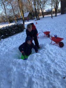Endlich Schnee :-)